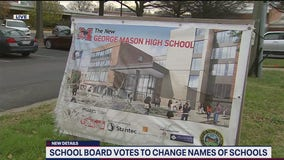 Falls Church school board votes to change school names linked to slavery