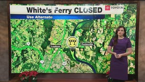 TRAFFIC ALERT: White's Ferry Closed; Use Alternate Route