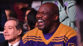 Shaquille O'Neal delivers holiday gifts to children in Georgia