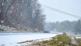 Loudoun County sheriff's deputies responding to multiple weather-related crashes