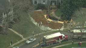 Fairfax County police respond to death investigation after trench collapses at construction site