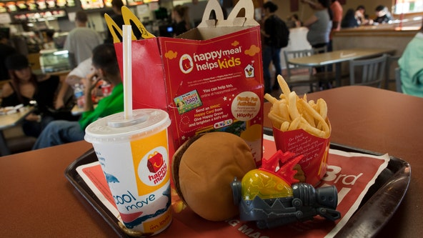 McDonald's plans to phase out plastic toys in Happy Meals