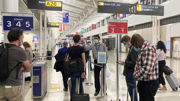 TSA union expresses concern about round 2 of holiday travel after several employees test positive