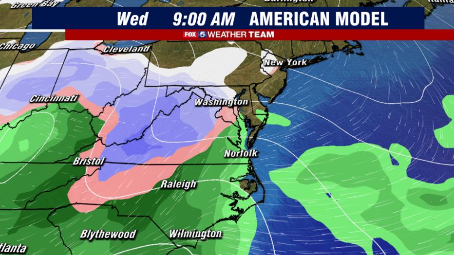 Winter Weather May Threaten Dc Region Next Week