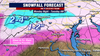 Wintry mess threatens evening commute Monday night; more snow possible late week