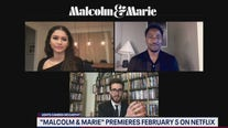 """Malcolm & Marie"" stars Zendaya and John David Washington talk new film"