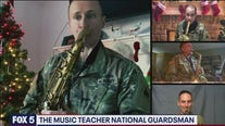 The music teacher National Guardsmen