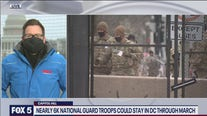 Nearly 6K National Guard troops could stay in DC through March