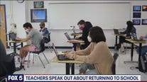Teachers speak out about returning to school