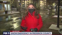 Snow emergency in Frederick County
