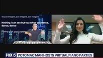 Potomac man hosts virtual piano parties