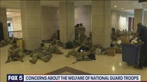 Concerns about the welfare of National Guard troops