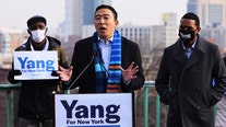 Andrew Yang calls for universal basic income in New York City