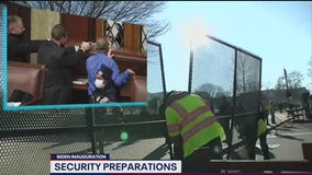 DC officials securing Capitol before Inauguration Day
