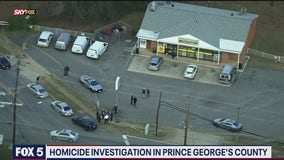 Prince George's County police investigate robbery and homicide at convenience store