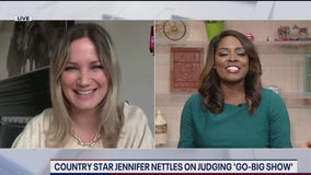 "Country star Jennifer Nettles talks new series ""Go Big Show"""