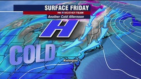 Chilly, cloudy Friday; dry weekend with eyes on possible winter weather next week