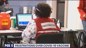 Overwhelming demand for Covid-19 vaccine frustrates eligible DC area residents