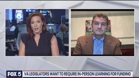 Virginia legislators want to require in-person learning for funding
