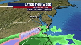 Chilly, dry Monday with highs in the 40s; eyes on possible late week winter storm system