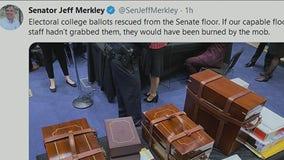 D.C. aide grabs Electoral College ballots before mob broke into Senate floor