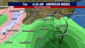 First winter storm of 2021 may bring rain, sleet or snow to parts of DC region early next week