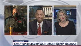 DMV parents want students back in school