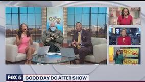 Bernie Sanders appears quiet on Good Day DC set