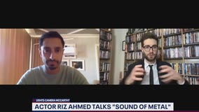 """Actor Riz Ahmed talks playing drummer who loses hearing in """"Sound of Metal"""""""
