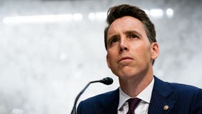 DC activists challenge Hawley claim about 'antifa' protest at Virginia home