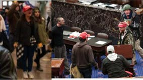 DC police release photos of 'persons of interest;' Additional security coming to Capitol Hill after chaos
