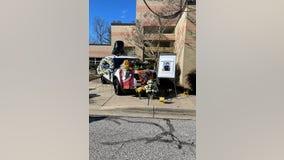 Vigil remembers fallen Greenbelt officer struck by car