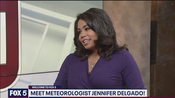 FOX 5 welcomes Jennifer Delgado as weekend evening meteorologist