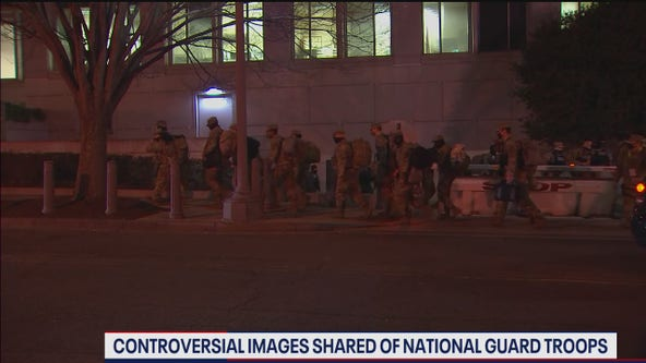 Thousands of National Guard troops in DC return to Capitol after relocated to parking garage
