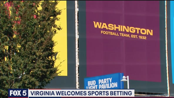 Virginia welcomes sports betting