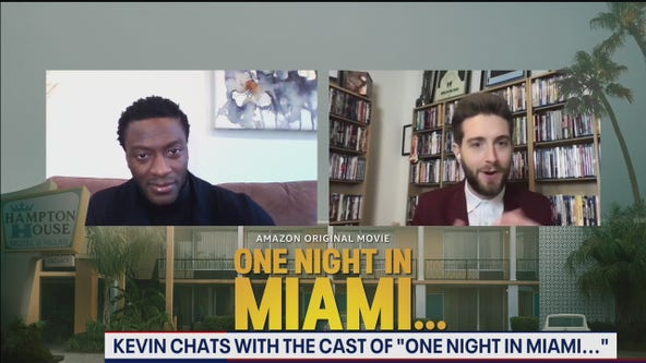 """One Night in Miami..."" stars talk preparing to portray historical icons"