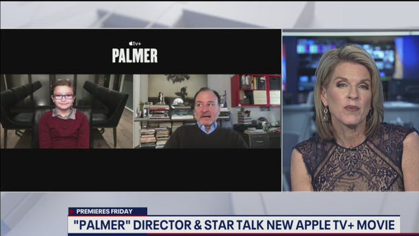 """""""Palmer"""" director and 8-year-old star talk new Apple TV+ movie"""
