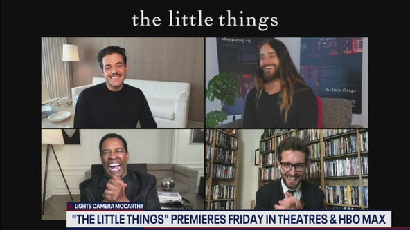 """The Little Things"" stars Denzel Washington, Rami Malek and Jared Leto talk new film"