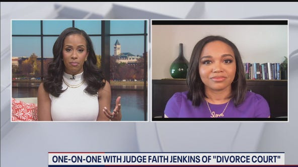 "One-on-one with Judge Faith Jenkins of ""Divorce Court"""