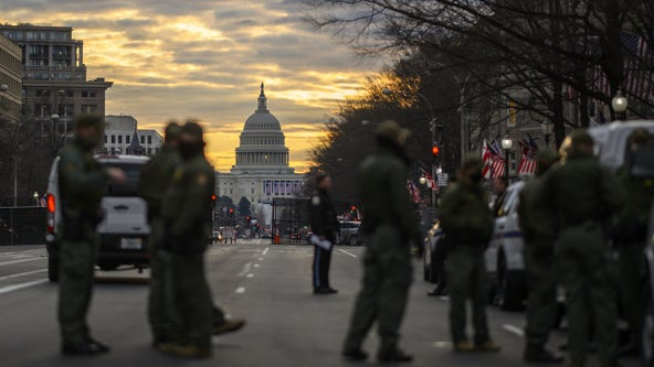 FBI vetting National Guard troops in nation's capital amid fears of insider attack at inauguration