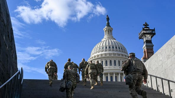 National Guard troops prepare to head home after helping secure Biden inauguration