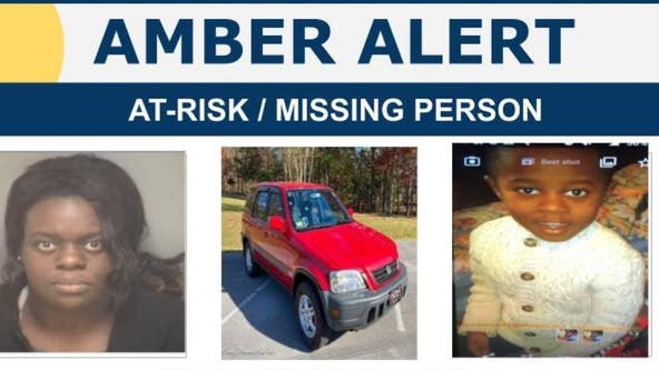 Amber Alert issued for child abducted from Charlottesville