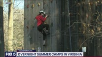 Overnight summer camps in Virginia