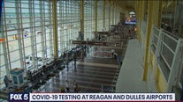 COVID-19 testing at Reagan and Dulles airports