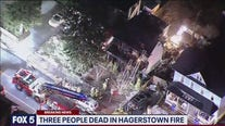 Three people dead in Hagerstown Fire