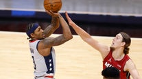 Beal on historic scoring streak as Wizards beat the Heat in Miami