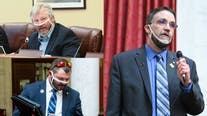 West Virginia lawmakers photographed wearing improper masks while conducting official duties