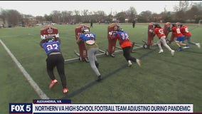 T.C. Williams High School football team adjusting during the pandemic