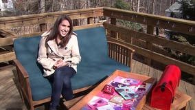 Virginiawoman delivers over 400 handmade cards to nursing home residents for Valentine's Day