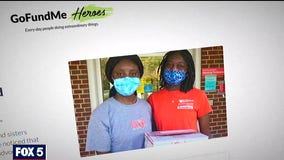Maryland sisters honored for giving back to their community by GoFundMe